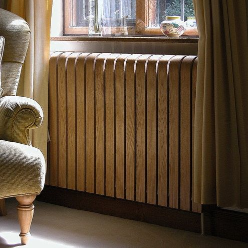 I Love Handmade: Wooden Curved Radiator Cover by Jason Muteham