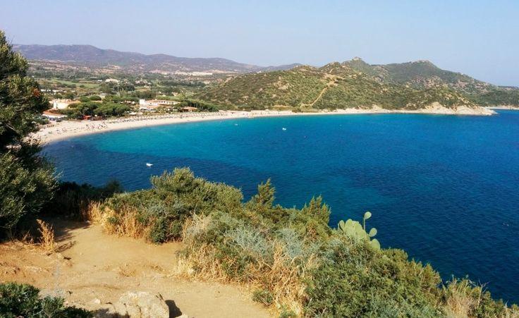 Bucht bei Villasimius