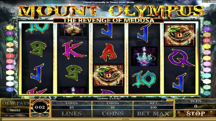 Mount Olympus ™ free slot machine game preview by Slotozilla.com
