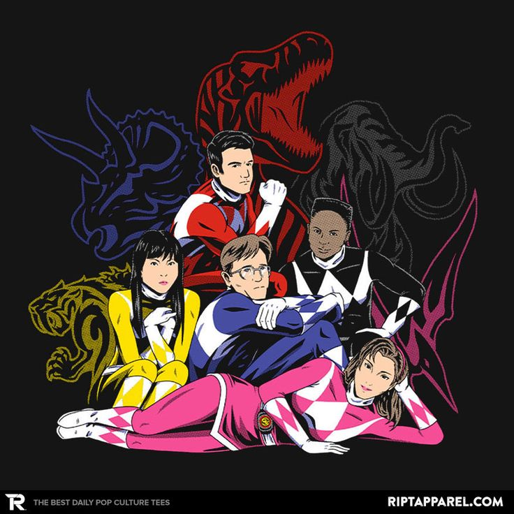 The Ranger Club T-Shirt - Power Rangers T-Shirt is $11 today at Ript!
