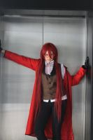 Grell cosplay - Black Butler by tegzbat