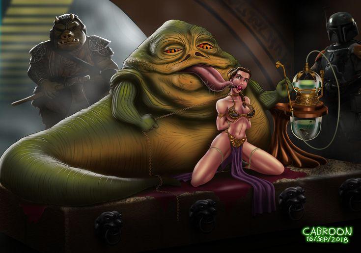Star wars princess leia jabba porn