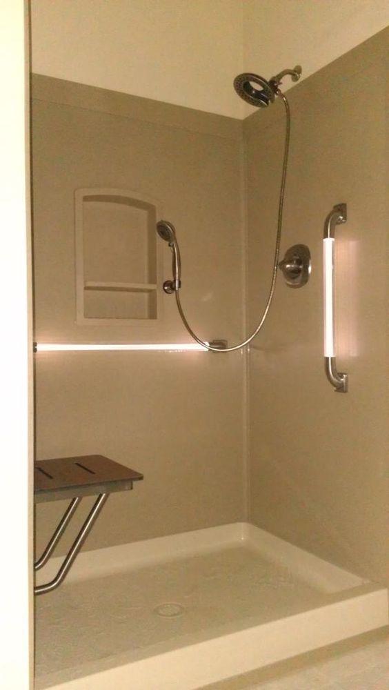 28 best swanstone showers images on Pinterest   Bathroom ideas ...
