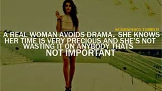 yeah and thankfully for the most part I have avoided drama lately. No no Drama!!