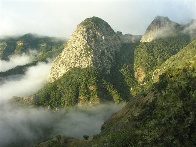 Mirador de Bailadero. Isla de La Gomera