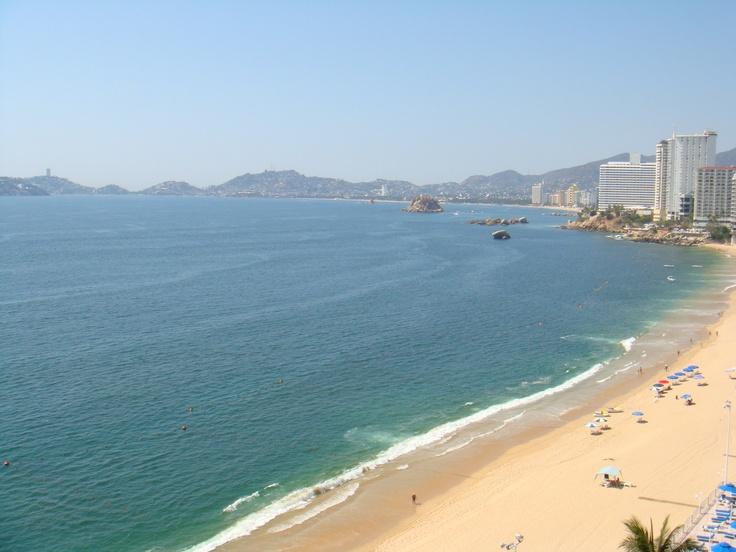 Beach at Copacabana Beach Hotel Acapulco, Acapulco, Mexico