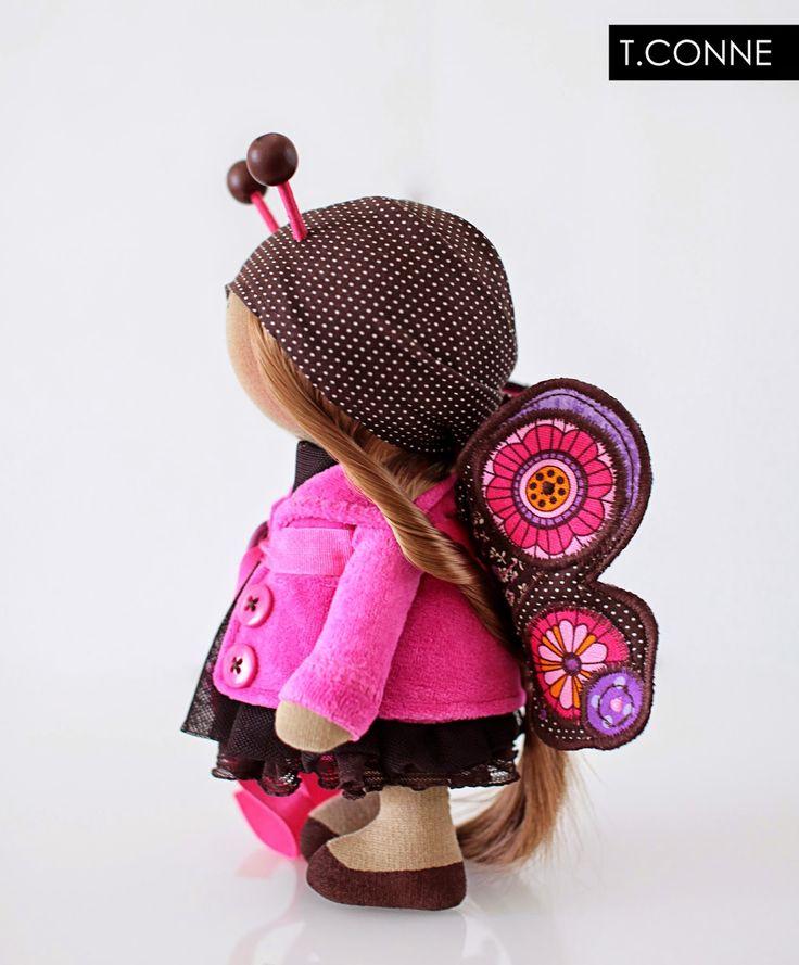 Красивые вещи: Детские бабочки.  Розовый.