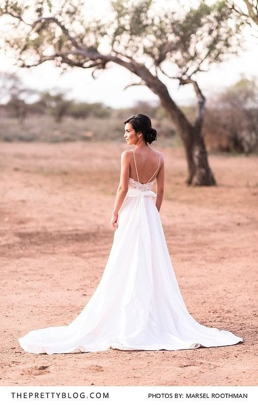 The 25 best silk wedding gowns ideas on pinterest silk wedding open back a line silk wedding gown dress by kobus dippenaar photo by junglespirit Images