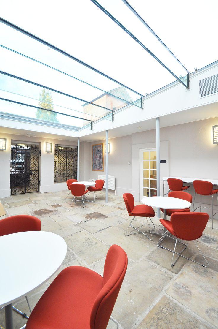 The University of Nottingham - The University of Nottingham - Highfield House: bof harmony Adagio chairs.