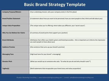 The 25+ best Brand strategy template ideas on Pinterest - brand strategist resume