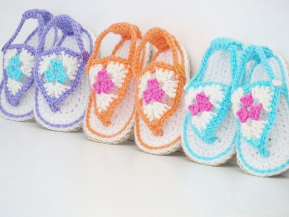 Crochet Booties Pattern Crochet Sandals by CrochetBabyBoutique, $4.99