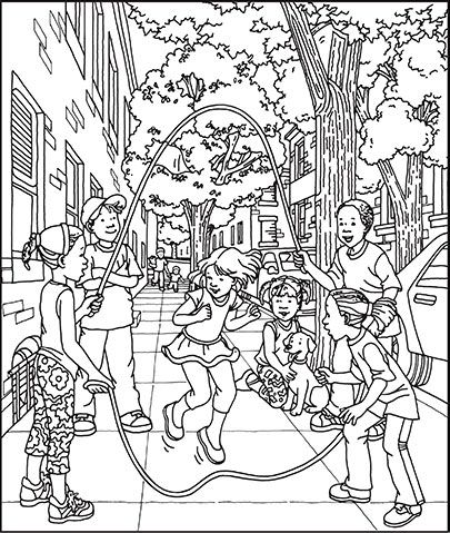 dutch children coloring pages - photo#29