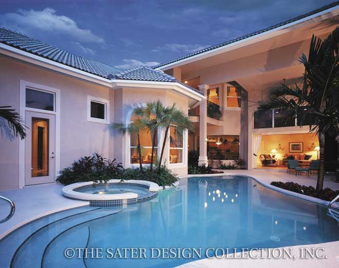 76 best Courtyard House Plans - The Sater Design Collection images ...