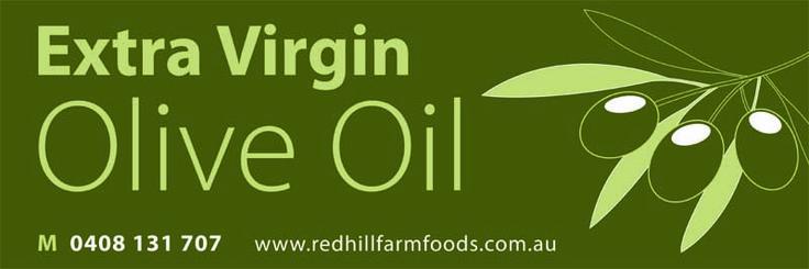 Olive oil banner