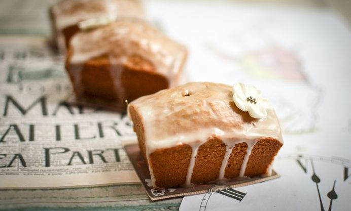 earl gray loaf cake