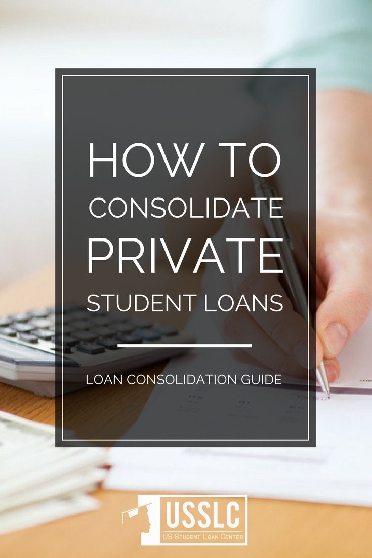 How To Consolidate Private Student Loans | Loan Consolidation Guide |  Are you wondering if you can consolidate private student loans with your federal or government loans? This is likely just one of your many questions so we'll get right to it!