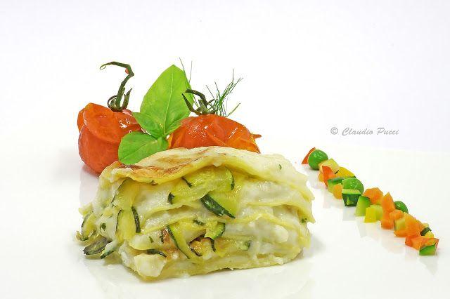Piccolo Mondo : Lasagne con pescatrice e zucchine