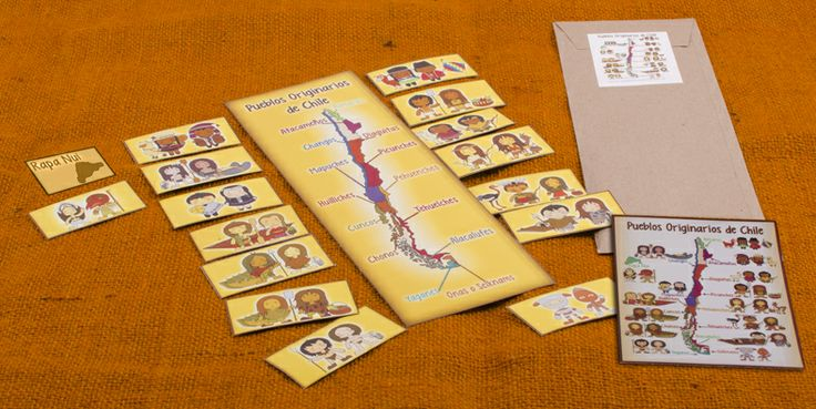 Mapa y fichas de personajes imantadas.