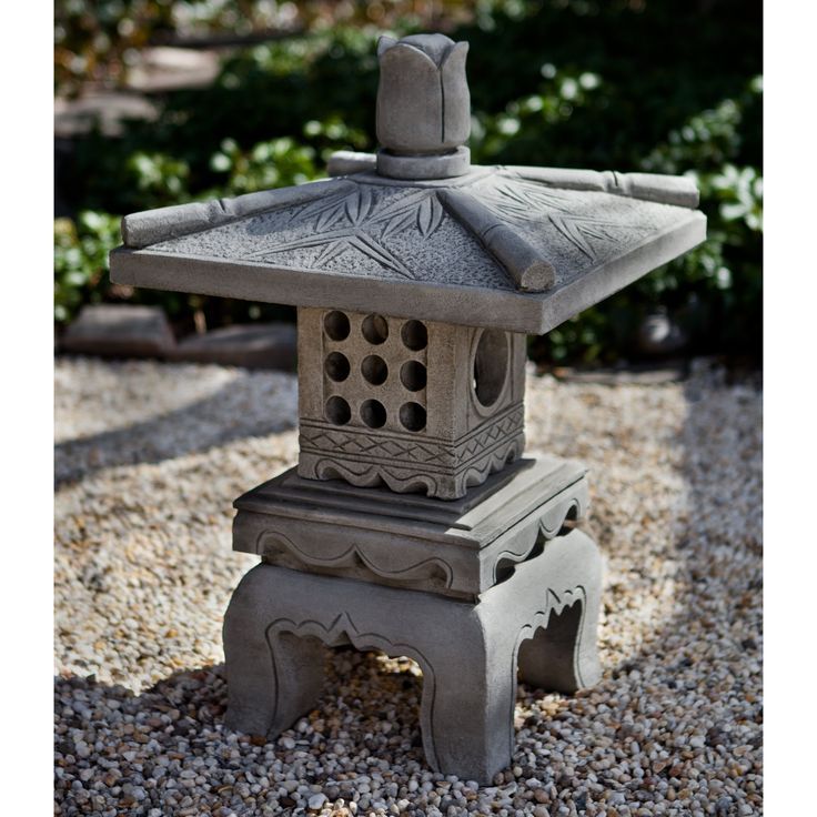 Campania International Bamboo Pagoda Garden Statue - About Campania InternationalEstablished in 1984, Campania International's reputation has been built on quality original products and service. ...
