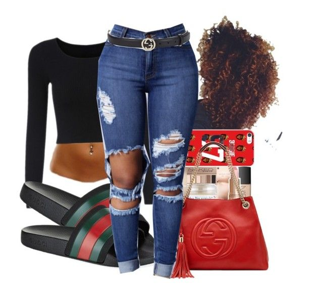 """""""School Monday ❣"""" by shamyadanyel ❤ liked on Polyvore featuring Gucci"""