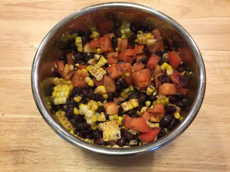 Black Bean Corn Salsa - quick and easy recipe!