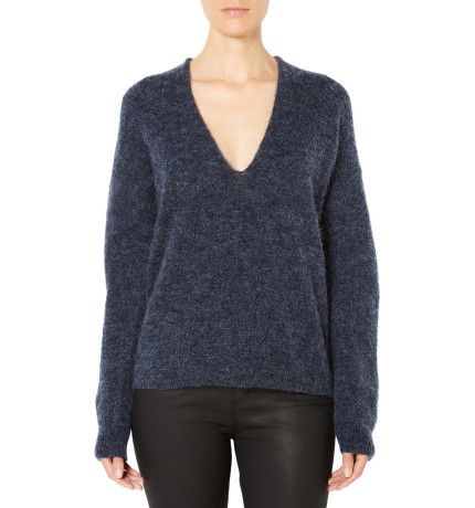 Slouchy Deep V Knit |  Witchery David Jones