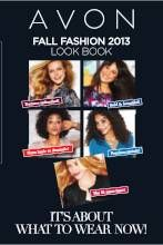 Avon Brochure - Fall fashion book. Due date Oct 22, 2013 as well. Happy Shopping