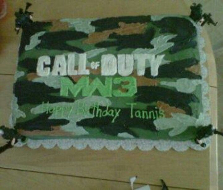 Call Of Duty Mw3 Camoflauge Cake My Cakes Pinterest HD Wallpapers Download free images and photos [musssic.tk]