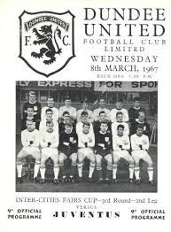 After Beating Barcelona Home & Away in the 2nd Round, United also Beat Juventus 1-0 in the 2nd Leg of the 1966-67 European Fairs Cup