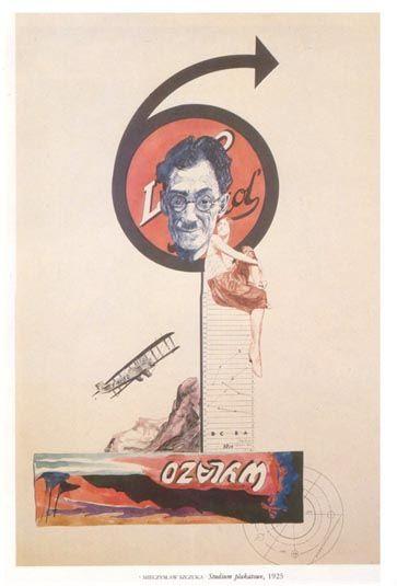Mieczyslaw Szczuka: Studium plakatowe 1925 Formisme