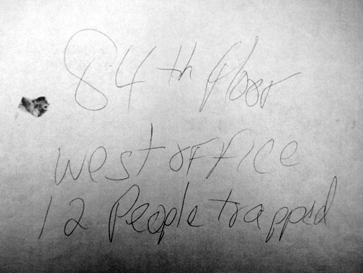 9/11 Note, Thrown From 84th Floor Of World Trade Center, Finds Its Way To Family A Decade Later