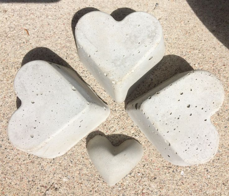 #Concrete hearts