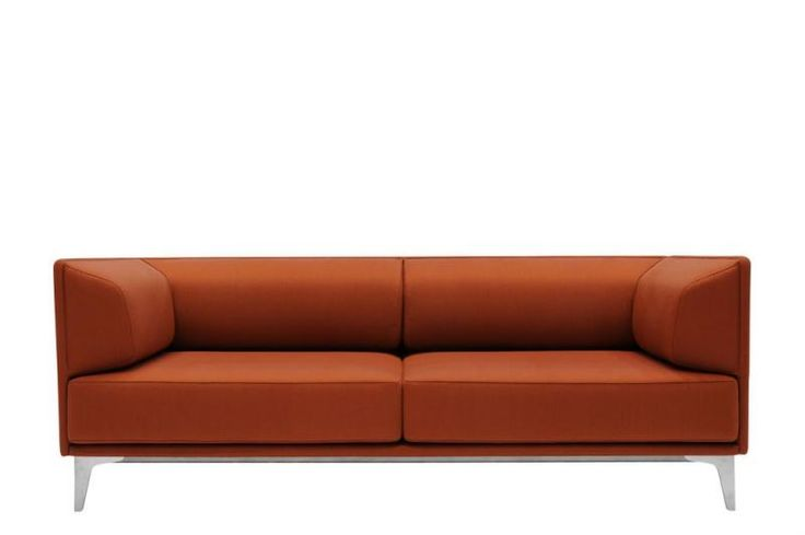 #Apoluna is Erik Jørgensen's exclusive sofa series, created by the Swiss firm Studio Hannes Wettstein . Apoluna was born as a two and three seater, but since then, the series has added a big brother, the sofa Apoluna Box with high-backed panels that offer a cozy, sheltered nook. Apoluna's tight expression strikes a minimalist note, while the firm yet sculptural interior highlights the soft curves and new construction.