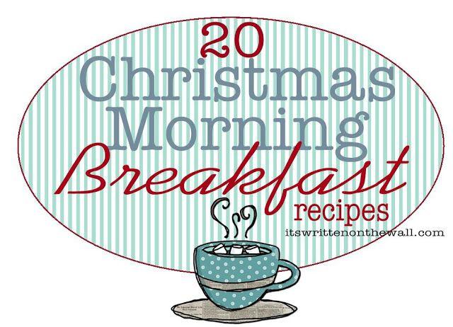 2- Christmas Morning Breakfast Recipes