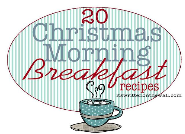 20 Christmas Morning Breakfast Recipes. Overnight and slow cooker recipes that are
