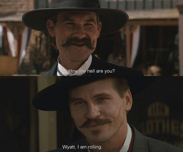 Doc Holliday Quotes From The Movie Tombstone: 280 Best Tombstone Images On Pinterest