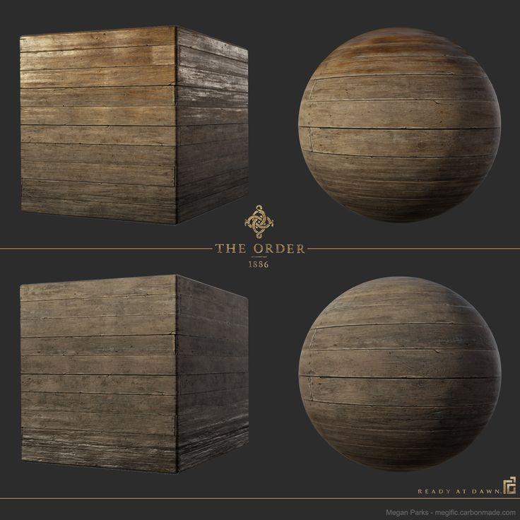 ArtStation - The Order: 1886 whitechapel wood flooring, Megan Parks