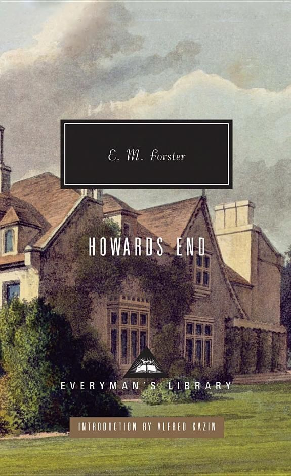 Howards End ~ E.M. Forster the novelist lived in Stevenage and much of Howard's end is based on the town.