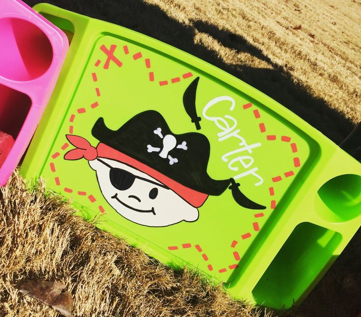 A personal favorite from my Etsy shop https://www.etsy.com/listing/268216345/lap-tray-pirate