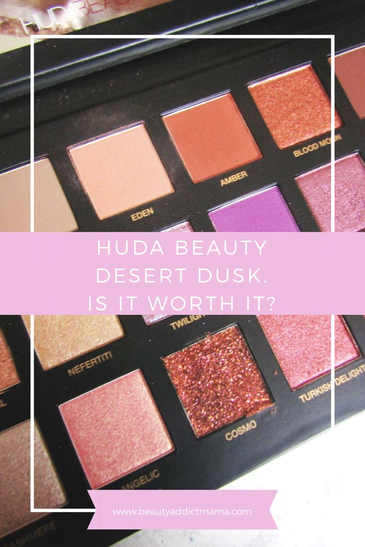 £56 is A LOT for an eyeshadow palette so I put the Huda Beauty palette to the rest and decide if it is really worth the high price. #makeup #eyeshadow #palette #makeupreview #hudabeauty #desertdusk
