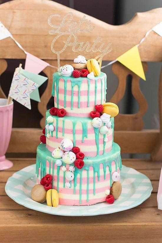 Aprende a hacer una verdadera Tarta Chorreando o Drip Cake, con la técnica infalible. Chorreos perfectos que no son como una vela derretida!