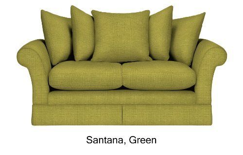 Settee in red