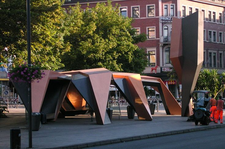 Bus Stop, Aachen Germany