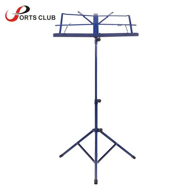 Hot Sale Foldable Lightweight Metal Material Sheet Music Stand Holder with Waterproof Carry Bag