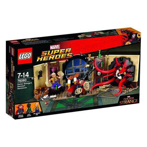 #LEGO #Marvel Super Heroes octor #Strange's Sanctum Sanctorum (76060) - http://www.thebrickfan.com/lego-marvel-super-heroes-doctor-stranges-sanctum-sanctorum-76060-official-images/