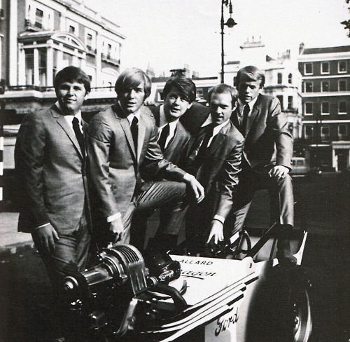 the beach boys in 1964