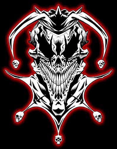 Evil Jester Tattoo Design #1 | wicked jester 13 | Pinterest
