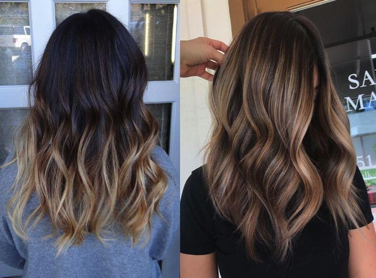 Socias Hair Salon Highlights Vs Balayage What S The Difference Balayage Highlights Brunette Balayage Vs Highlights Foils Vs Balayage