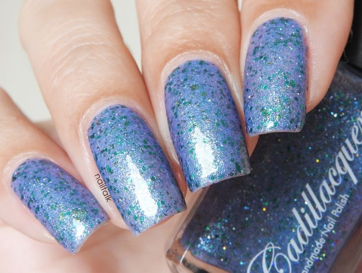 Cadillacquer : Cadillacquer I Am A Storm Shop here- www.color4nails.com Worldwide shipping available