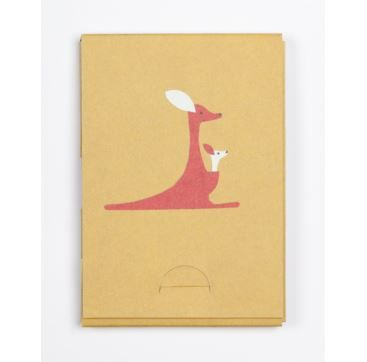 Pocket Pad - Kangaroo - Bobangles #SundayPaper #Australia #travel #pocketPad #kangaroo